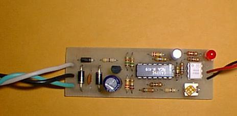 DCC Compatible Block Occupancy Detector