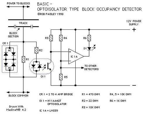 Optoisolator Type Block Occupancy Detectors