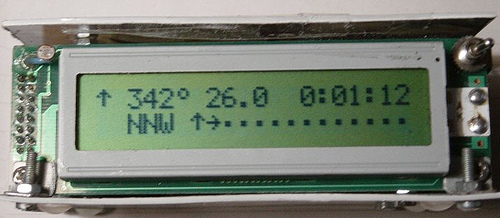 PIC controlled compass CMPS03 to standard LCD