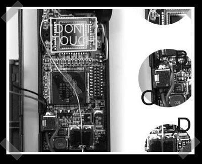 RC digital camera interface
