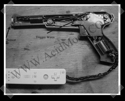 NES Lightgun wiimote mod