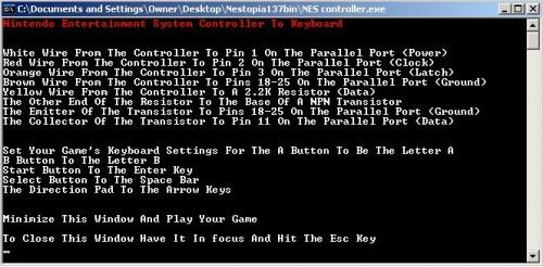 Wire a NES Controller to a Computer to play NES Emulator Games in Style