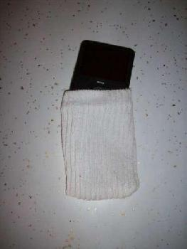 Plain and Simple iPod sock.