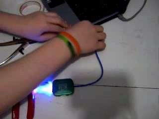 The Coolest USB L.E.D. Pocket-Sized Light (Pocket-Sized Entry)