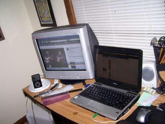 Split-Screen Computer