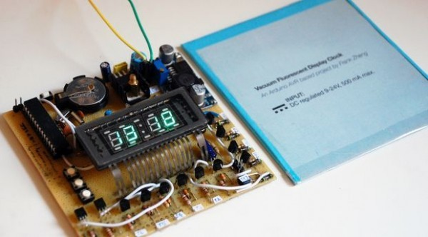 Arduino VFD Display Clock Tutorial