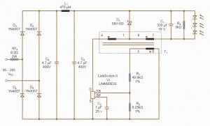 LinkSwitch-II® non-isolated 350 mA, 12 V LED driver