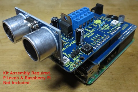 NEW PRODUCT - Freetronics SimpleBot Shield Kit for Arduino 3