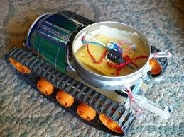 Make your own light-following robot tank with Arduino