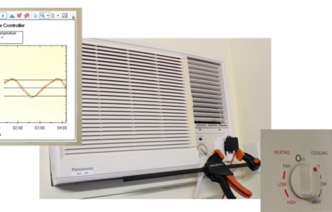 Controlling older air conditioners with Arduino and Megunolink