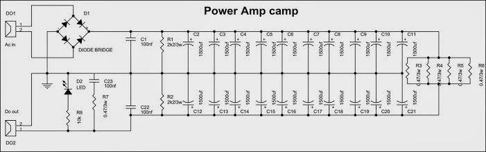 """Class A Single-Ended """"Amp Camp Amp #1"""" (C) By Nelson Pass 10"""