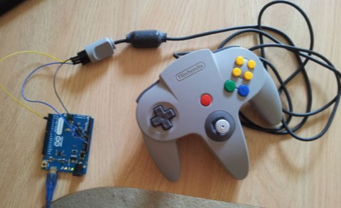 Convert N64 Controllers into USB Gamepads using Arduino