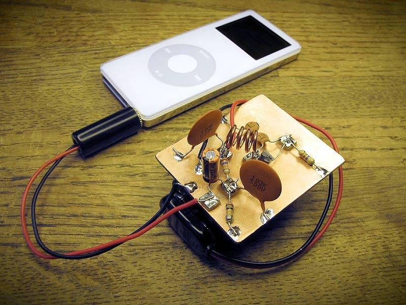 Super Simple FM Transmitter