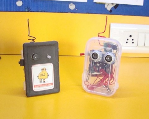 Make a wireless parking assistant with Arduino
