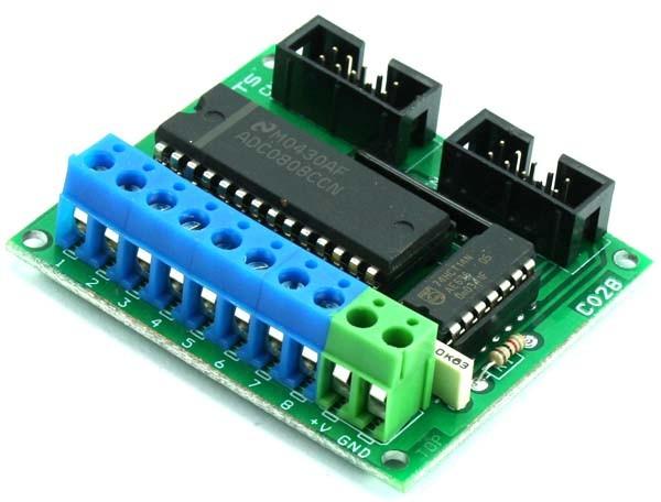 Analog to Digital Converter module