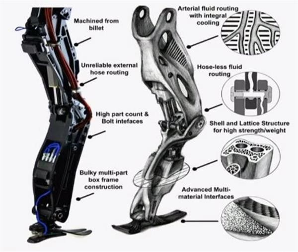 Google's Atlas robot goes on successful walk in the woods 3