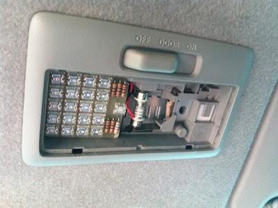Membuat Lampu Led Untuk Kabin/Plafon Mobil 32