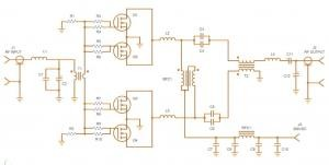 Low Cost 1000 Watt 300 Volt RF Power Amplifier for 27.12 MHz