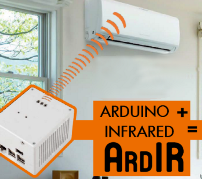 ArdIR a programmable and remotely manageable Infrared control with Arduino