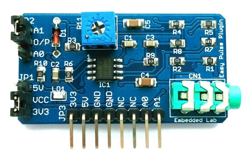 Easy Pulse Plugin: open source Arduino compatible oxymeter 3