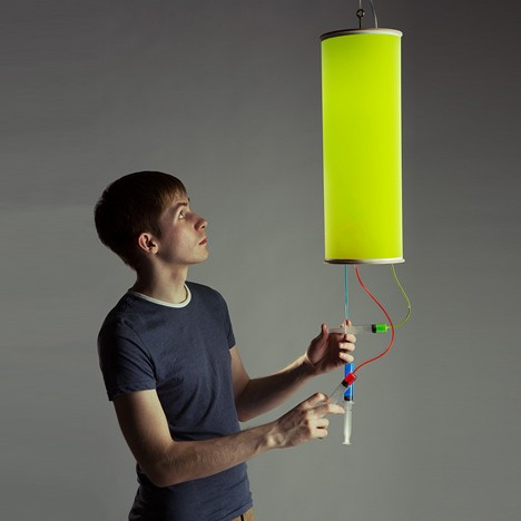 Colour Injector lamp