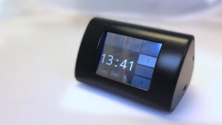 ESP8266 touchscreen WiFi light controller and clock