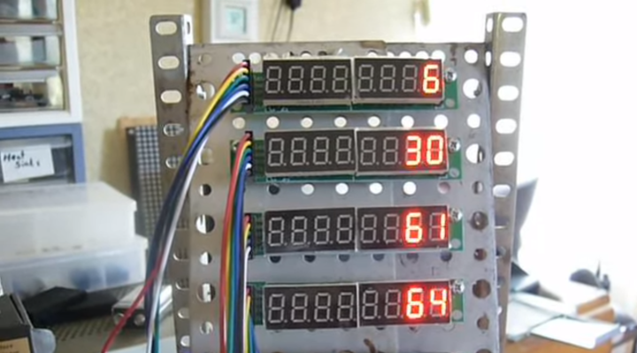 Simulate a Babbage Difference Engine with Arduino