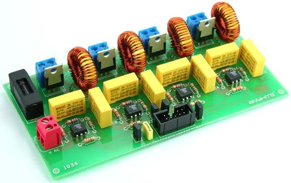 4 Channel Triac Board