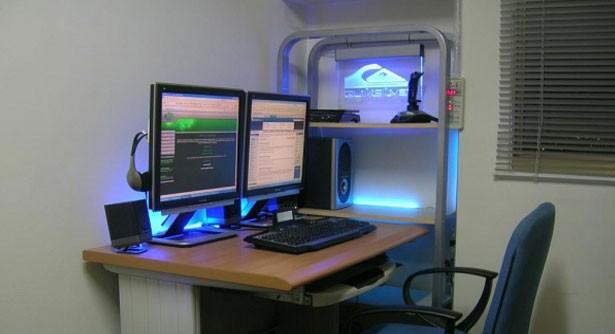 USB powered desktop decoration LED lights