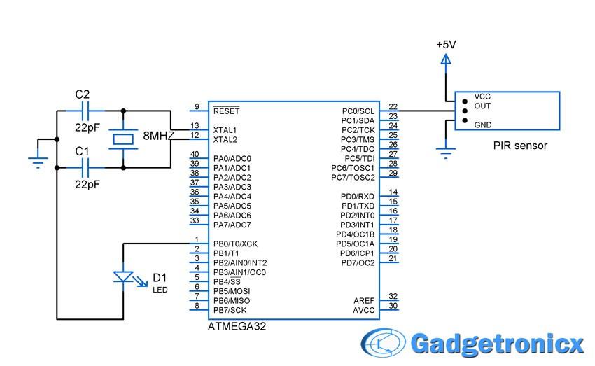 pir-sensor-interface-circuit-diagram