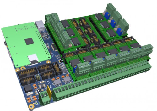 BOAR'S PIGLET 01: our newborn multi-axis development board
