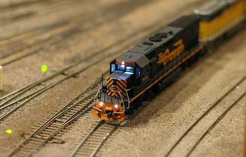 DIY Model Train controller project
