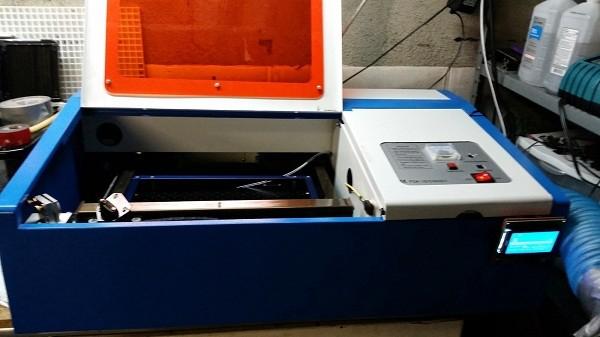 40 Watt Chinese CO2 laser upgrade with RAMPS & Arudino