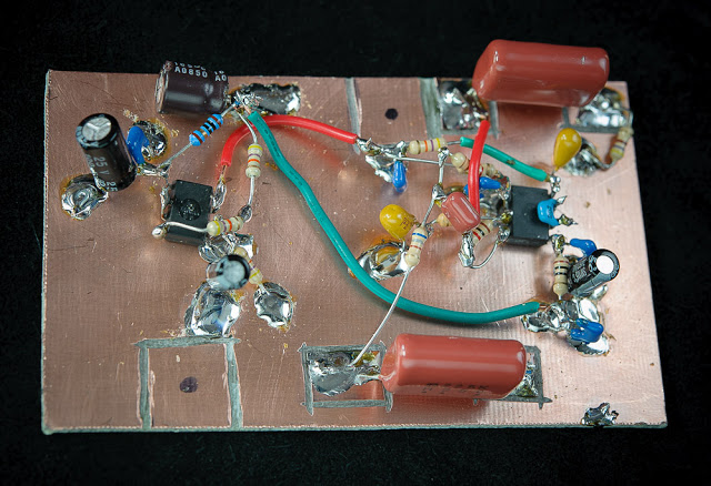 QRP WorkBench Line-in Audio Amplifier — Part 2