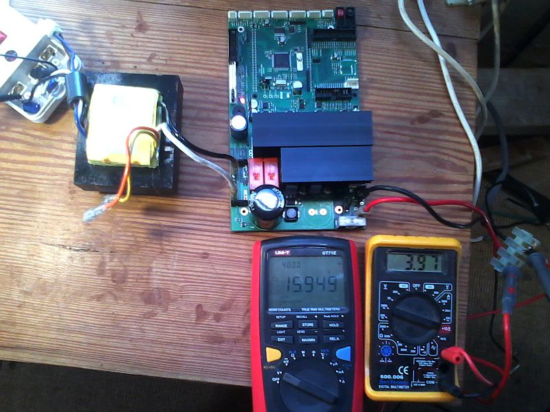 Open Inverter, an open source micro-solar inverter