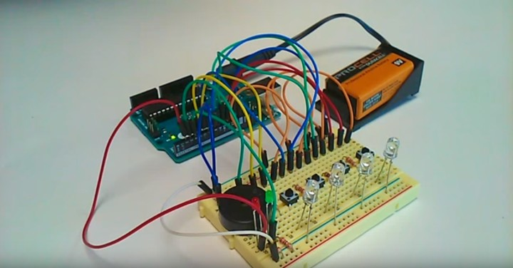 "Build a ""Simon"" Game shield for Arduino"