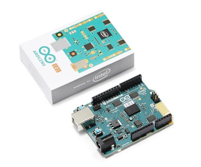 Intel and Banzi just presented Arduino 101 and Genuino 101