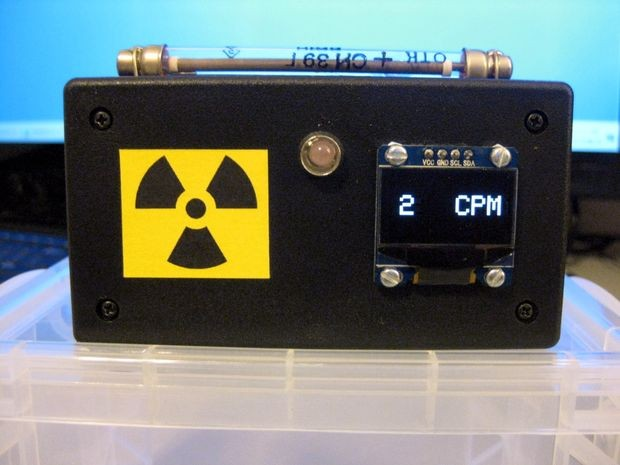 Arduino Mini Geiger Counter