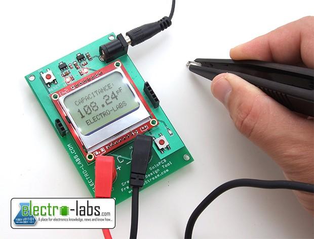 DIY Capacitance Meter