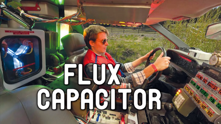 Back to the Future – Build your Flux Capacitor