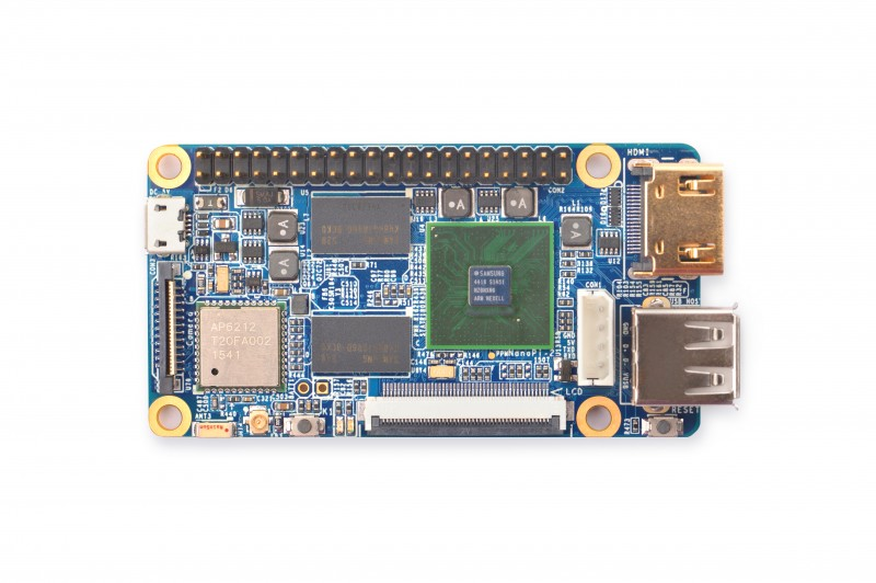 NanoPi2 incredible tiny raspi2 compatible board released!