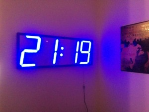 Arduino LED Wall clock using WS2811
