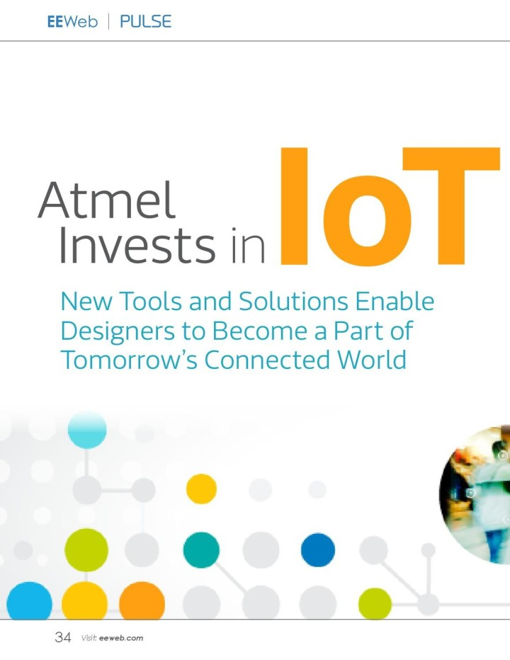 Pulse Magazine: Enabling Tomorrow's Connected World with Atmel