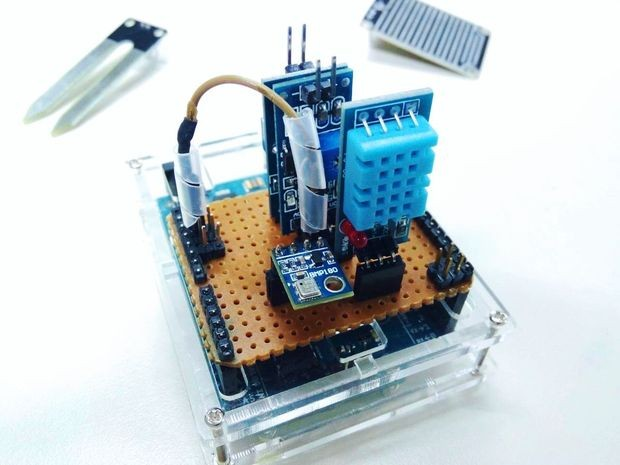 Arduino Weather Station (AWS)