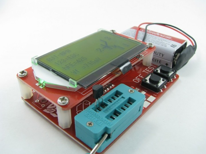 Component Tester FISH 8840 Review