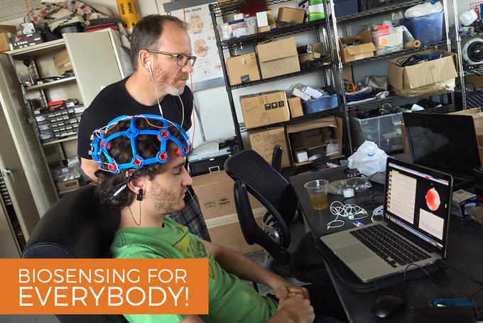 OpenBCI: a new open source brain-computer interface on Kickstarter