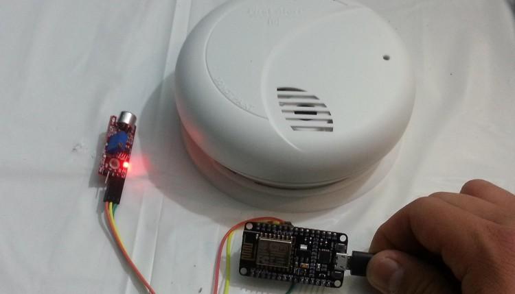 ESP8266 DIY Wifi Smoke Alarm Notifier