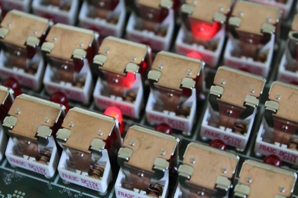 Vocoder encoder relay board
