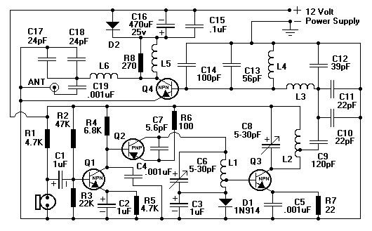 7 Watt FM Transmitter