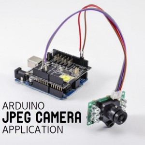 An ARDUINO based JPEG Camera with IR and PIR